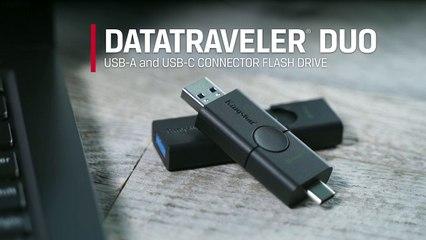 Présentation de la clé Kingston DataTraveler Duo