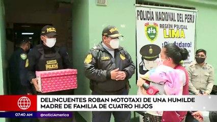 Delincuentes roban mototaxi de una humilde madre de familia | Primera Edición (HOY)
