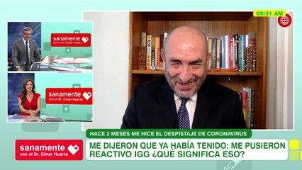 ¿Qué significa IGG? | Sanamente con el Doctor Elmer Huerta (HOY)