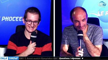 Talk Show du 19/10, partie 4 : questions / réponses