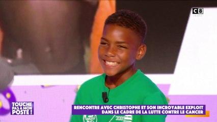 Christophe, 12 ans a nagé 40 kilomètres pour sensibiliser au cancer du sein