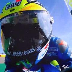MotoGP: Alex Rins también pudo festejar