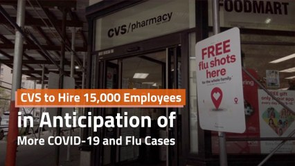CVS Gears Up For Flu Season
