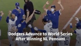 The Dodgers Advance To World Series