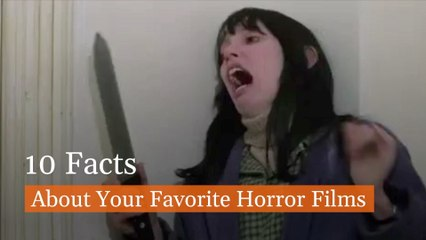 Spooky Horror Film Facts