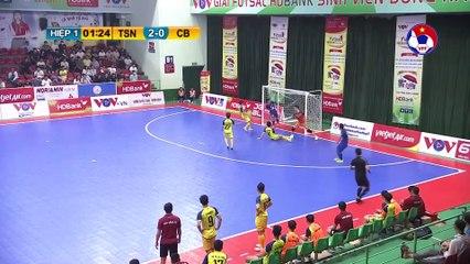 Highlights | Thái Sơn Nam - Cao Bằng | Futsal HDBank VĐQG 2020 | VFF Channel