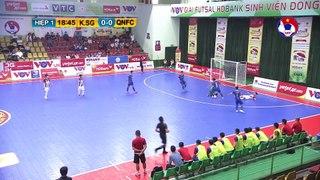 Highlights   Kardiachain Sài Gòn - Quảng Nam   Futsal HDBank VĐQG 2020   VFF Channel