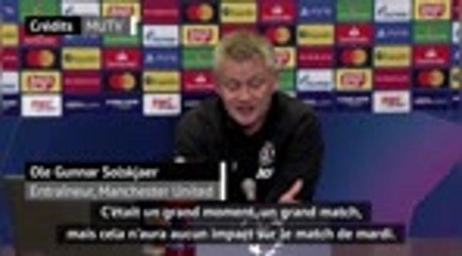 """Groupe H - Solskjaer : """"La victoire de l'an dernier n'aura aucun impact sur cette rencontre"""""""