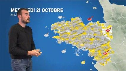 Illustration de l'actualité La météo de votre mercredi 21 octobre 2020