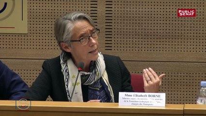 Elisabeth Borne sur les recettes des radars en janvier 2019