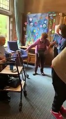 Watch video of East Lothian care home residents dancing after staff buy them a jukebox