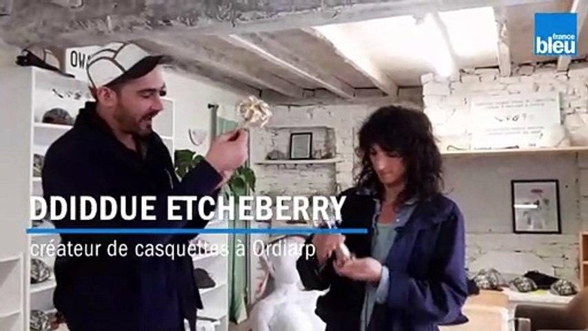 Deux basques créateurs de casquettes en pneu recyclé récompensés au festival d'Hyeres