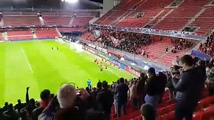 20/10/20 : SRFC-KRASNODAR : kop Rennais avant match