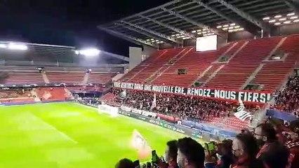 20/10/20 : SRFC-KRASNODAR : hymne de la Champions League