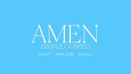 Kari Jobe - Amen (Simple Gospel)