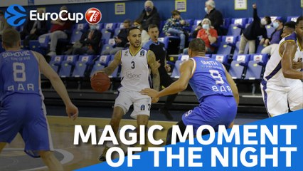 7DAYS Magic Moment of the Night: Brandon Brown, Boulogne Metropolitans 92