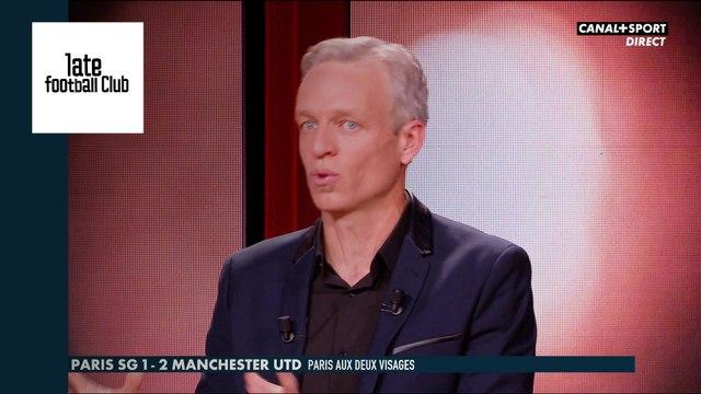 Le PSG chute contre Manchester United