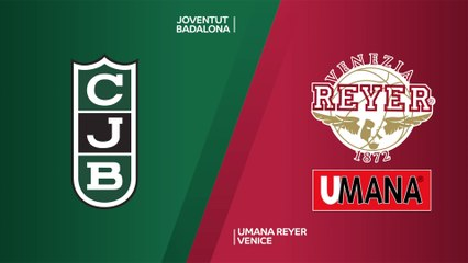 Joventut Badalona - Umana Reyer Venice Highlights | 7DAYS EuroCup, RS Round 4