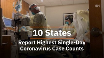 The Cases In These 10 States Are High