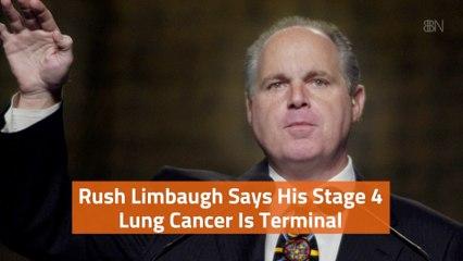 Rush Limbaugh Is Very Sick