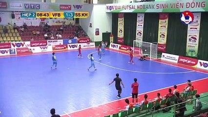 Highlights | Vietfootball - S. Sanatech Khánh Hòa | Futsal HDBank VĐQG 2020 | VFF Channel