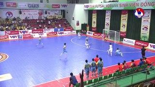 Highlights   Thái Sơn Bắc - Sanna Khánh Hòa   Futsal HDBank VĐQG 2020   VFF Channel
