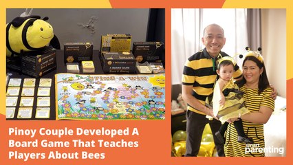 Pinoy Couple Developed A Board Game That Teaches Players About Bees