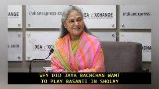 Why Did Jaya Bachchan want to play Basanti in Sholay