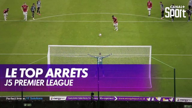 Le top arrêts de la J5 de Premier League