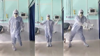 Assam Doctor Dances In PPE Kit To Cheer Up COVID-19 Patients
