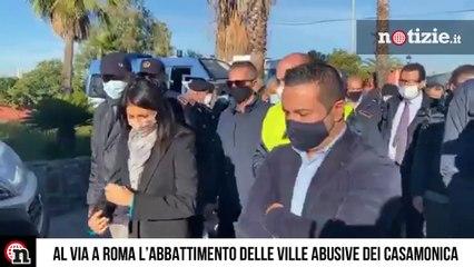 Roma, blitz contro i Casamonica: ville abusive confiscate e abbattute