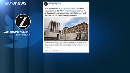 Les musées de Berlin vandalisés