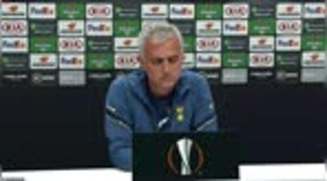 """Ligue Europa - Mourinho : """"Bale n'est plus le même joueur"""""""
