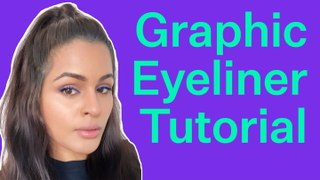 How To Do The Graphic Blue Eyeliner Look