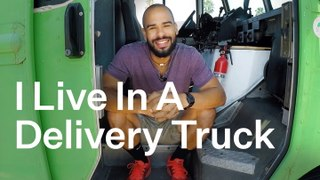 This Is What It's Like To Transform A Delivery Truck Into A Tiny Home