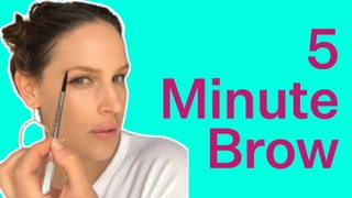 Easiest Brow Tutorial You Can Do In Just 5 Minutes