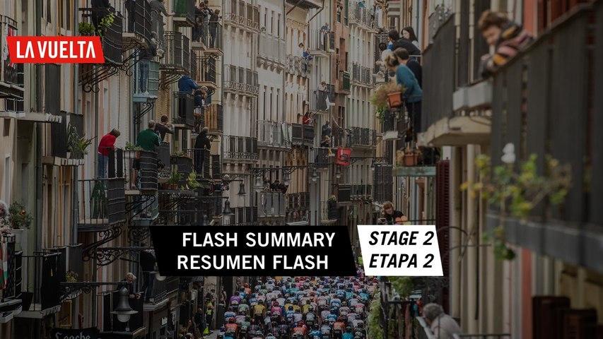 Flash summary - Stage 2 | La Vuelta 20