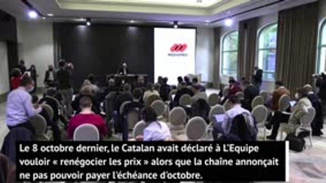 """Ligue 1 - Jaume Roures : """"La seule chose qu'on demande est d'adapter cette saison à la situation"""""""