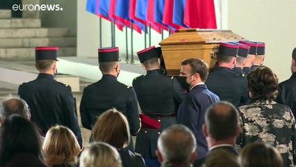 La France rend un hommage national à Samuel Paty