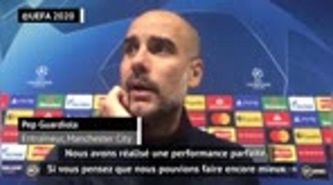 """Groupe C - Guardiola : """"Une performance parfaite"""""""
