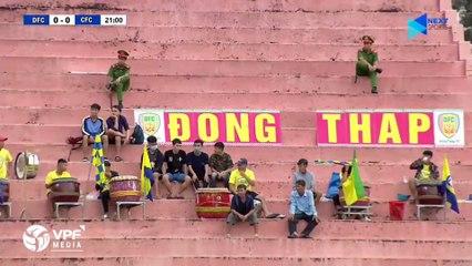 Highlights | Đồng Tháp - XSKT Cần Thơ | Bàn thắng muộn thắp lại hy vọng trụ hạng | VPF Media