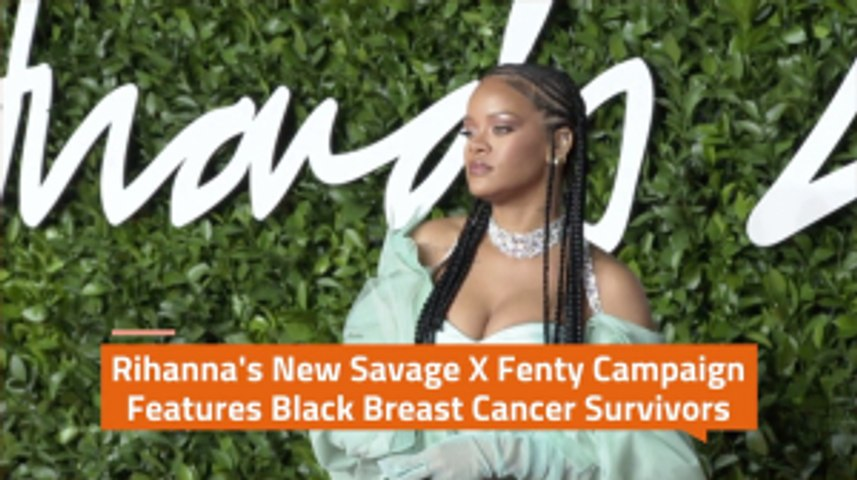 Savage X Fenty Takes On Breast Cancer
