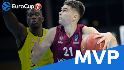 MVP of the Week, Gytis Masiulis, Lietkabelis Panevezys