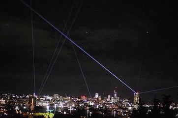 Light Night over Leeds