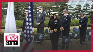 United Nations Command pays respects to UN soldiers who fought in Korean War