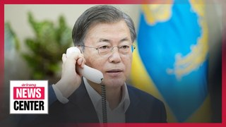 Pres. Moon asks world leaders for support in S. Korea's WTO leadership bid