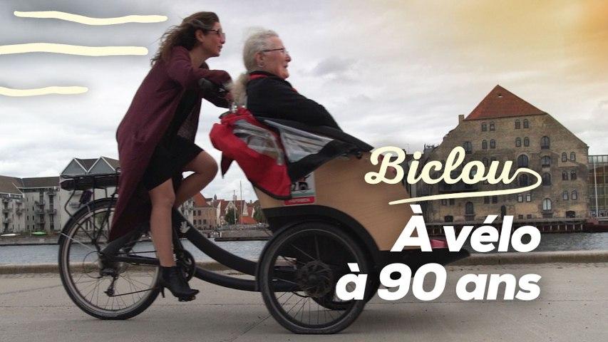 Grâce au vélo, ces personnes âgées retrouvent un peu de liberté
