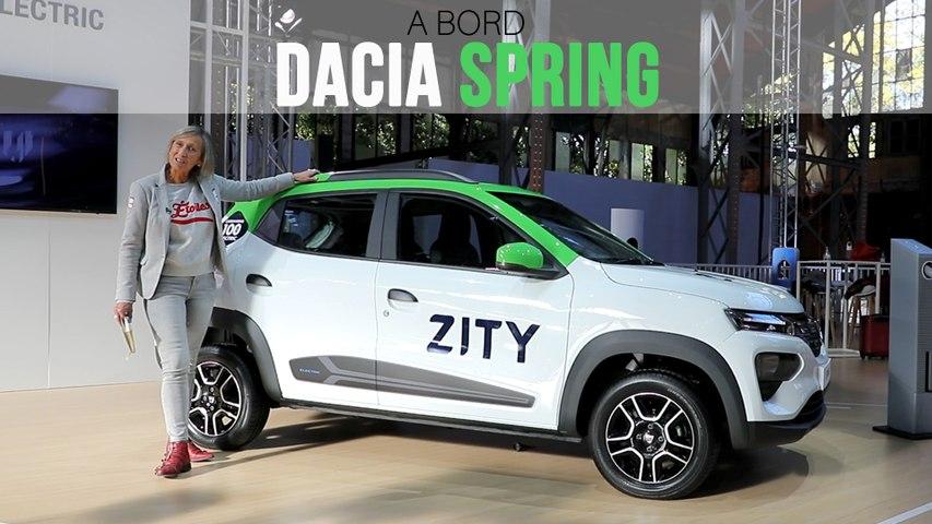 A bord de la Dacia Spring (2020)