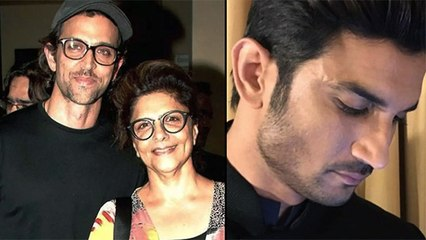Hrithik Roshan's Mother Shares A Post On Sushant Singh Rajput