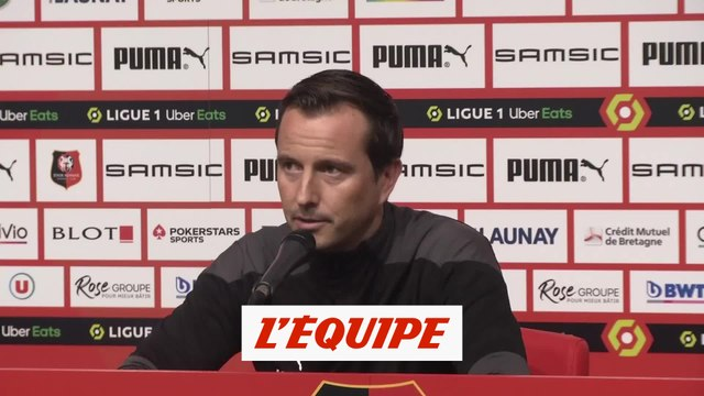 Stéphan : « Oui, c'est la crise ! » - Foot - L1 - Rennes